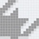 Found it at AllModern - Urban Essentials Houndstooth Mosaic Pattern Tile in Calm Grey