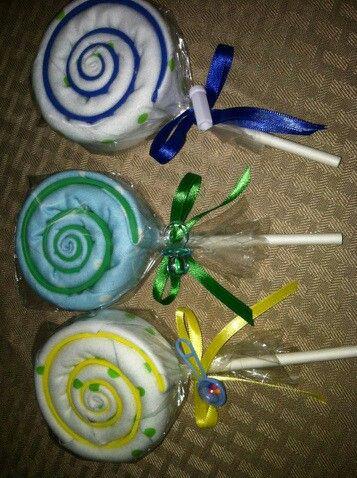 Diy Lollipop Baby Shower Favor Diy Crafts That I Love