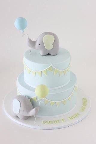 baby elephant cake cakes pinterest baby kuchen geburtstag und kuchen. Black Bedroom Furniture Sets. Home Design Ideas