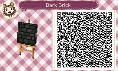 acnl bathroom Tumblr 2 dark brick