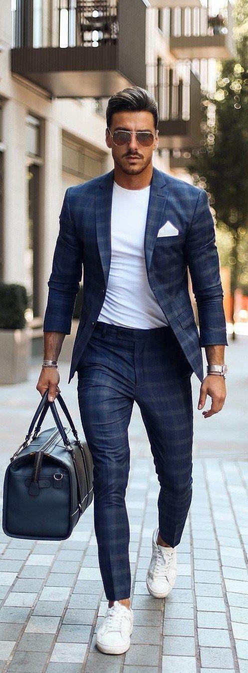 15 Moderne Workwear-Outfit-Ideen für berufstätige Männer
