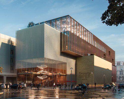 wulf architekten designs perforated metal façade f
