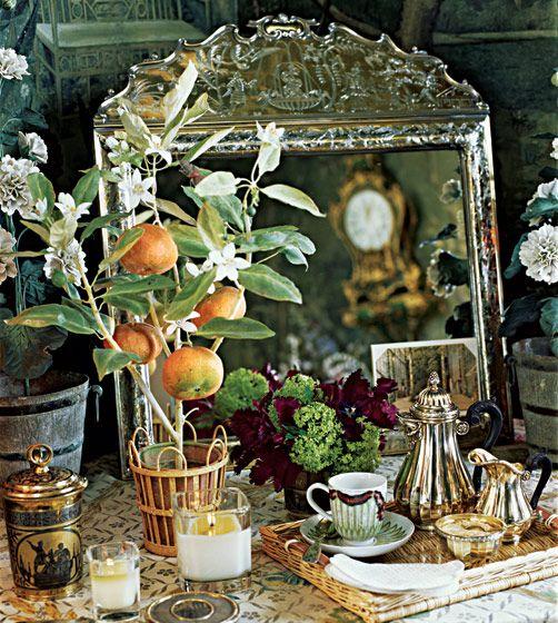 New York Design Hunting - Designer Howard Slatkin's Upper East Side Bedroom -- New York Magazine