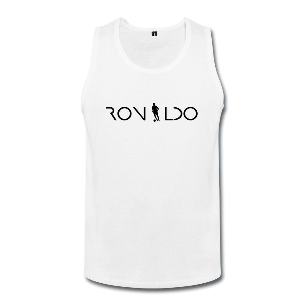 BONYA Men's 100% Cotton Cristiano Ronaldo 7 Tank Top