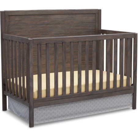 Delta Children Cambridge 4 In 1 Convertible Crib Rustic