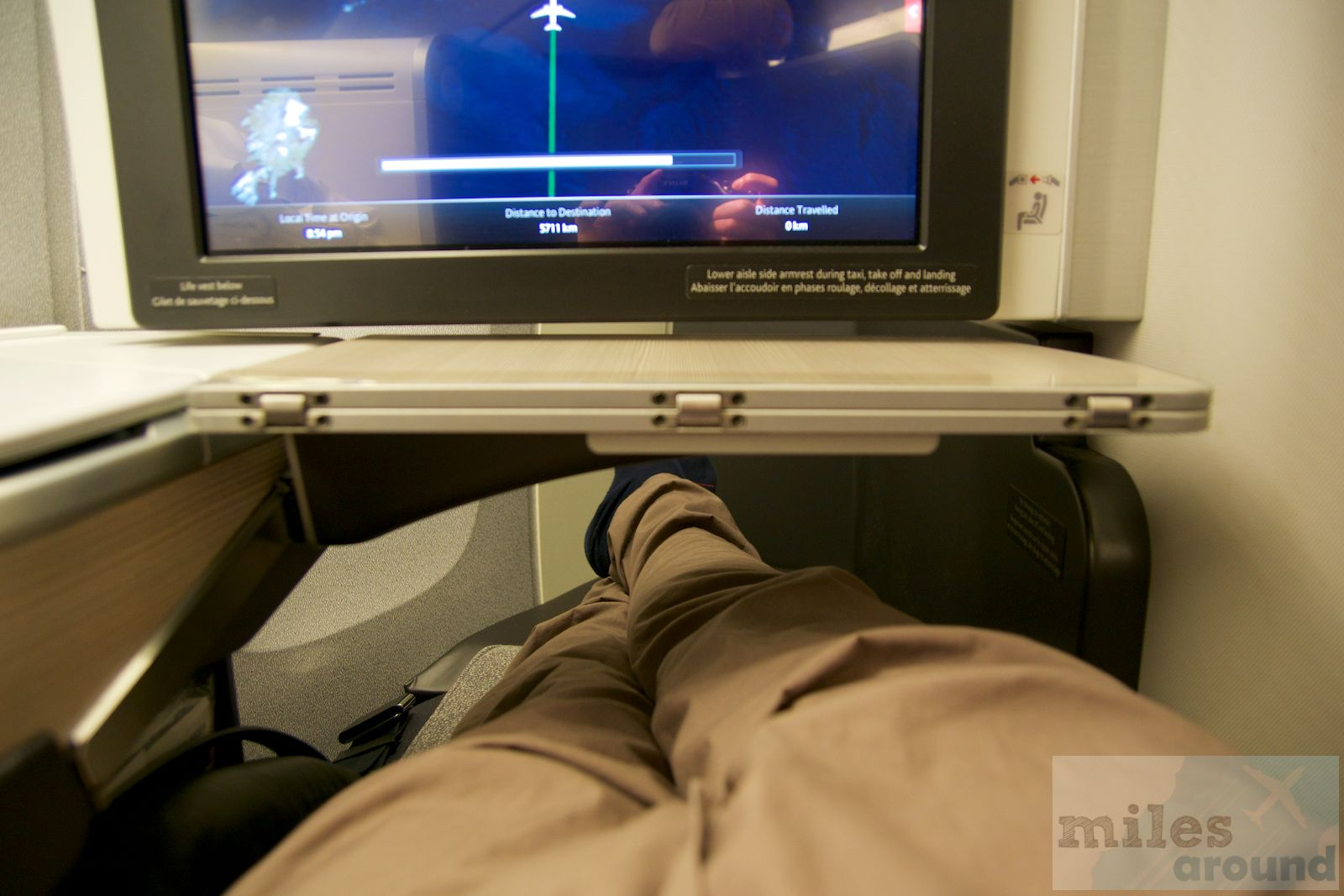 Air Canada Business Class in der Boeing 777300ER nach