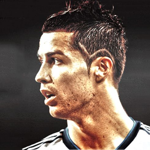 Cristiano Ronaldo Profile Photo With New Haircut And Hairstyle For