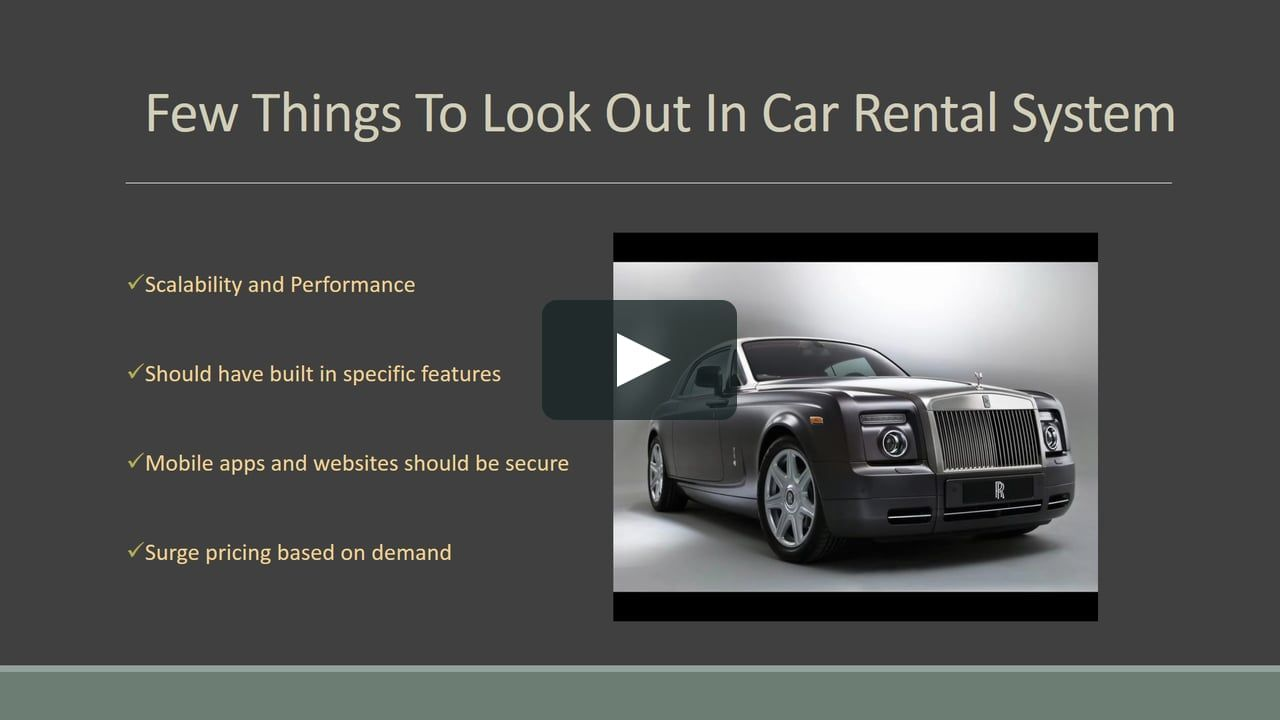How To Grow Your Car Rental Business Know The Few Strategy And