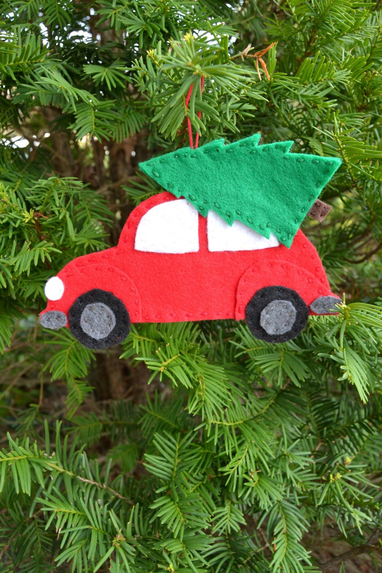 Car Christmas Ornaments.The Easy Diy Felt Ornament You Need To Make Mary Martha