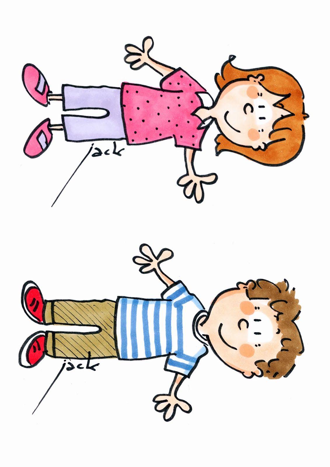 Filles gar ons organisation de la classe pinterest danger cole affiche maternelle et - Dessin fille et garcon ...