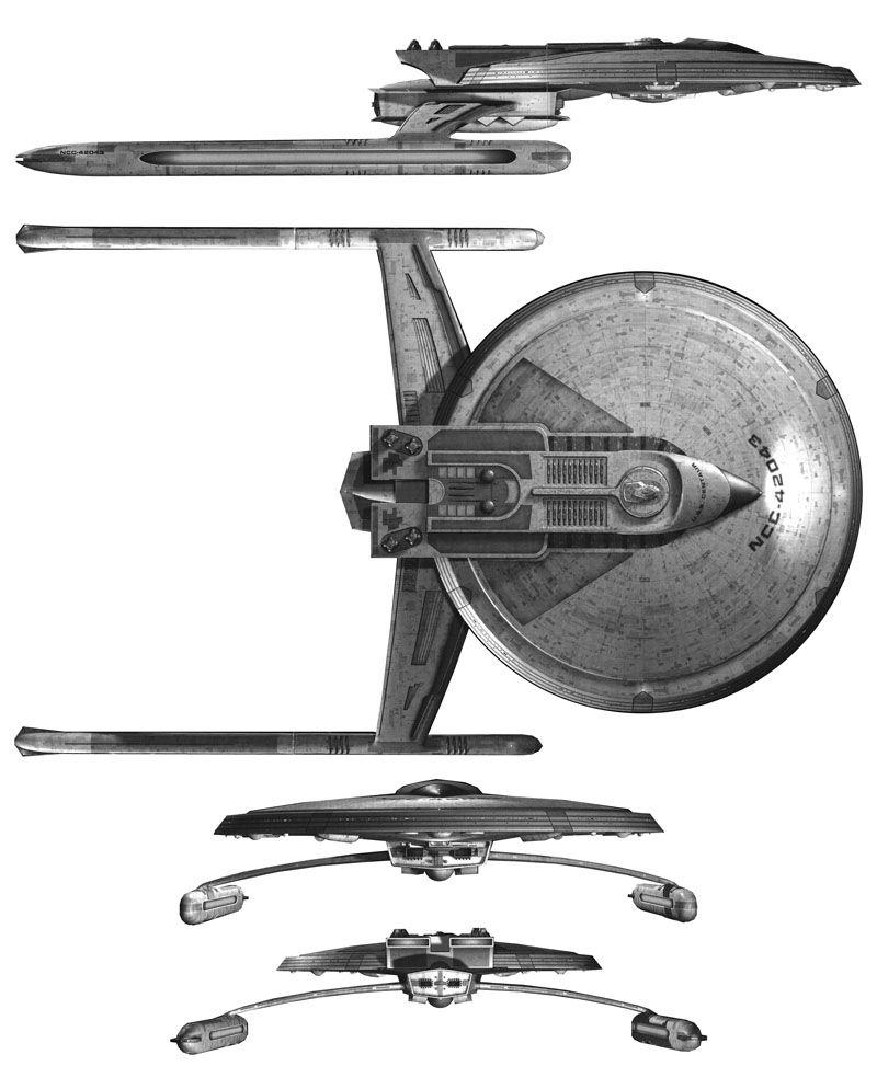 Star Trek: USS Centaur (Star ship)