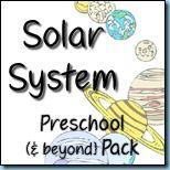 Solar System Free Preschool Pack thanks to www.1plus1plus1equals1.net!