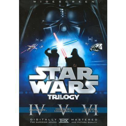 Star Wars Trilogy (6 Discs) (Widescreen)   Star wars trilogy, Original  trilogy, Trilogy