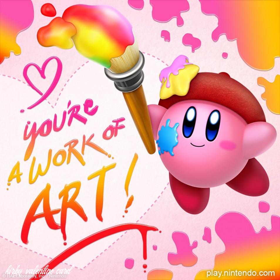 Kirby Valentine Kirby Kirby Nintendo Kirby Character