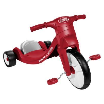 Radio Flyer Big Wheel With Images Radio Flyer Tricycle Ride