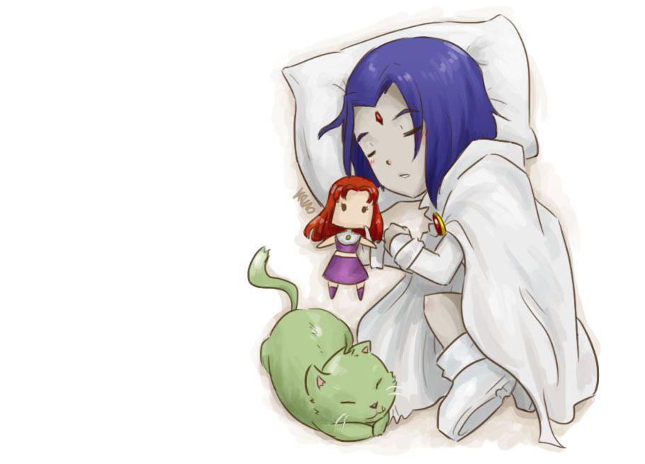 Little White Raven  Teen Titans  Teen Titans, Original Teen Titans -8696