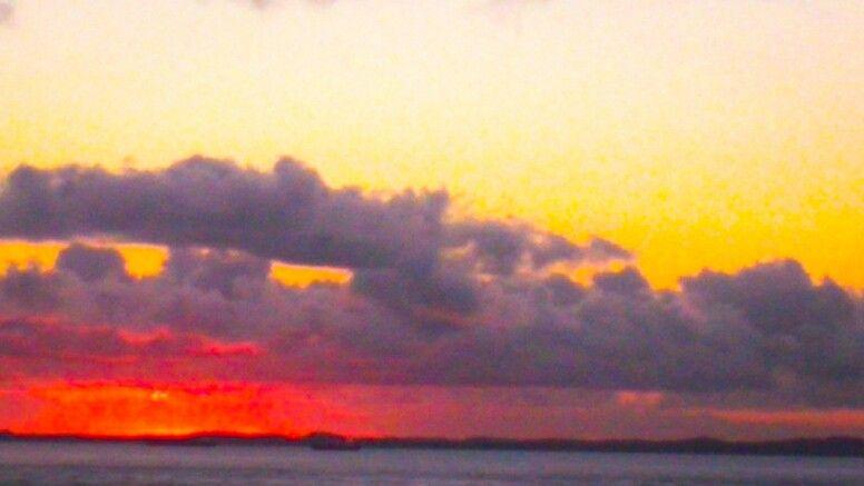 Pôr do sol, Baía de Todos os Santos, Salvador, Bahia.