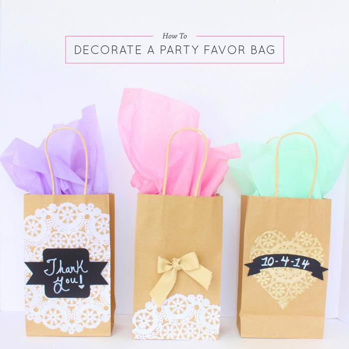 DIY Party Favor Bag | Best Friends For Frosting