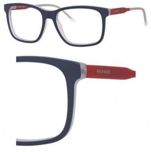 55c15d66681 Tommy Hilfiger Eyeglasses T hilfiger 1392 0QRE Blue Red