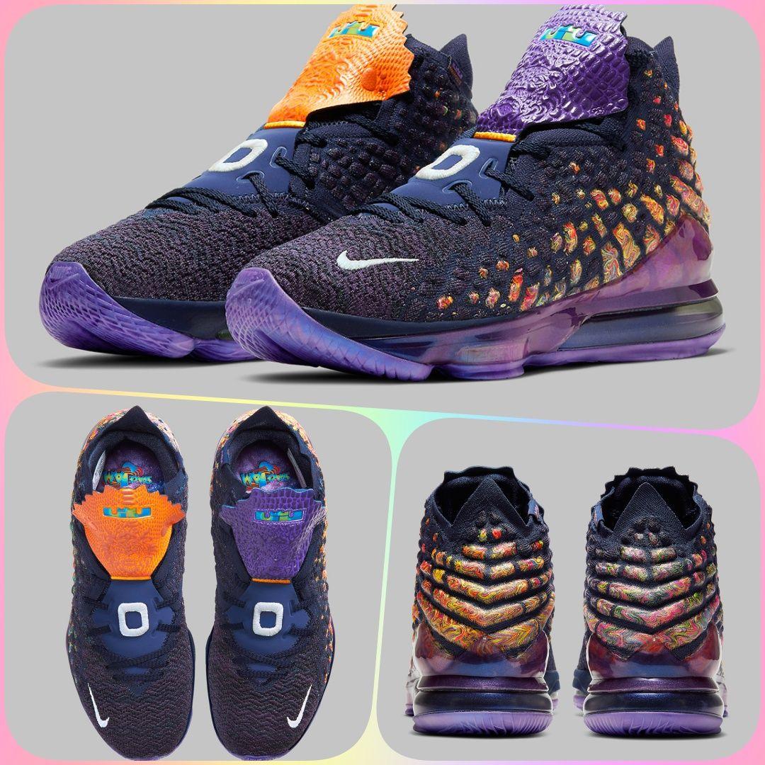 Nike LeBron 17 Monstars | CD5050-400 in 2020 | Nike lebron ...