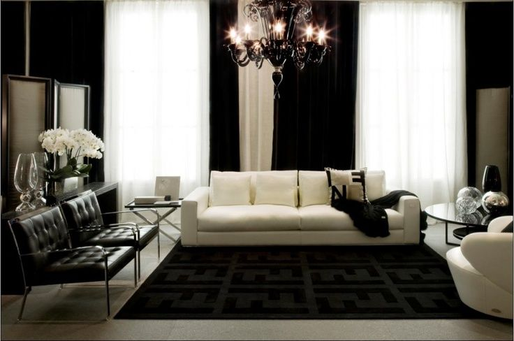 Exclusive Home Collections By Luxury Fashion Brands Fendi Casa Interior Design Home Living Room Inspiration