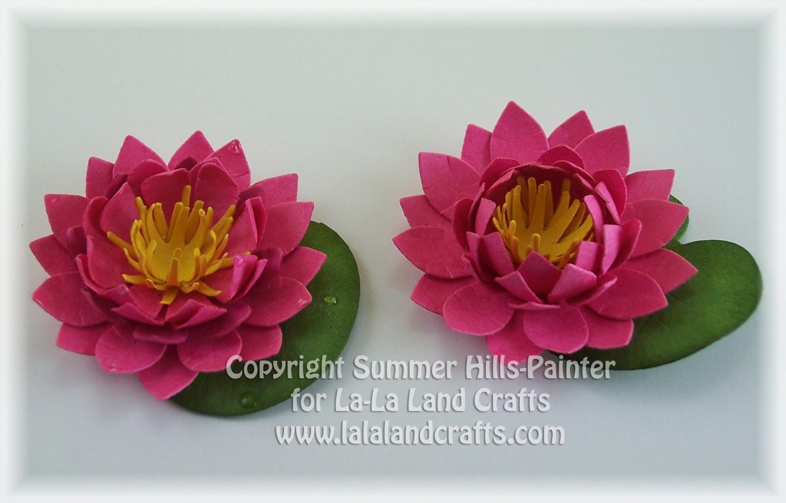 Lalaland Lotus Is A Tutorial On Using The Lotus Flower Die To