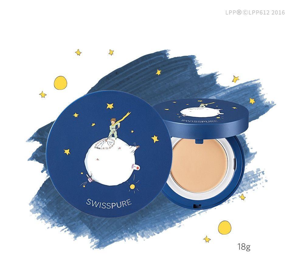 Missha Swiss Pure Le Petit Prince Wet Powder Cream Pact Spf32 Pa Maquiagem Coreana Maquiagem Coreana