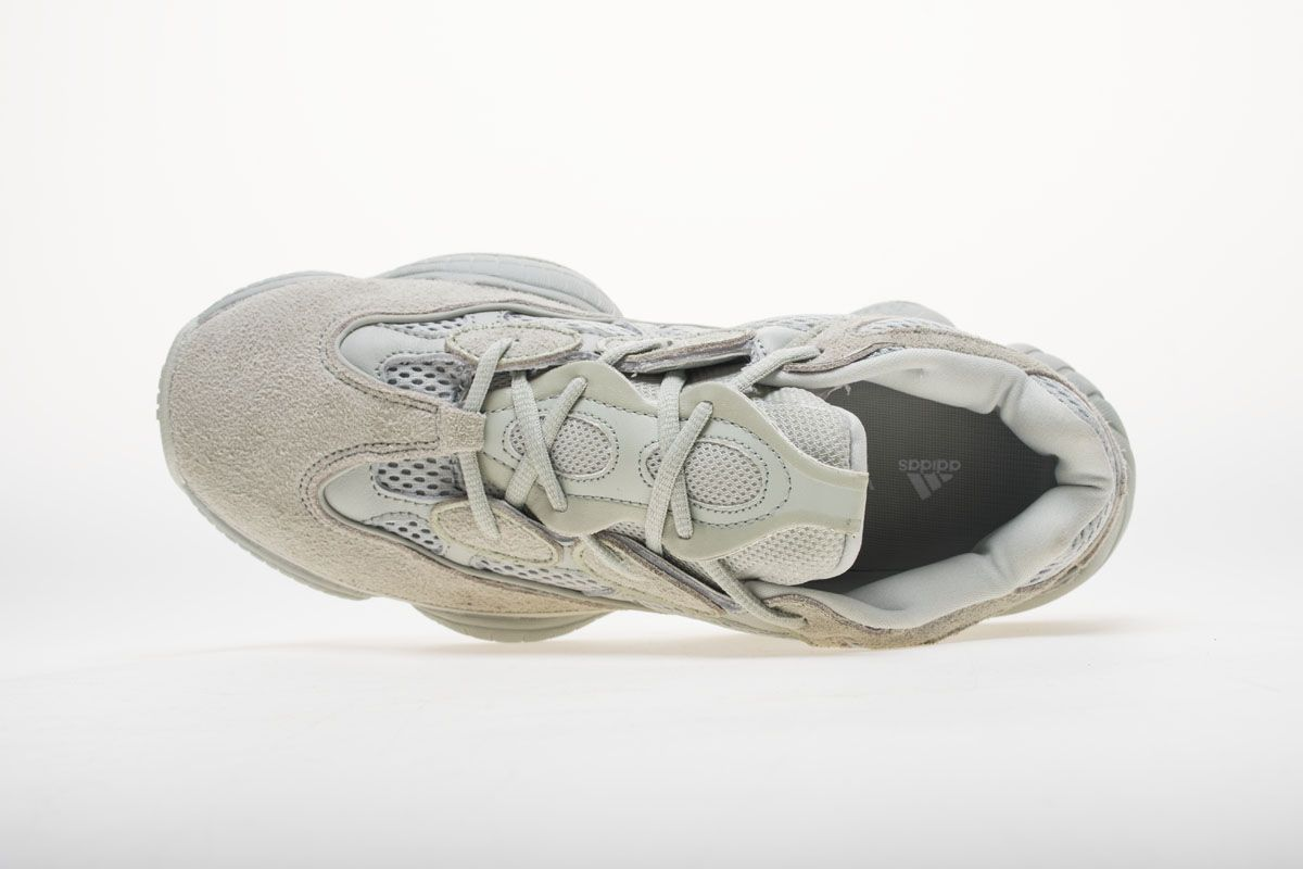 wholesale dealer 05e88 e97db Adidas Yeezy 500 EE7287 Salt Real Boost 6 | Adidas Yeezy 500 ...