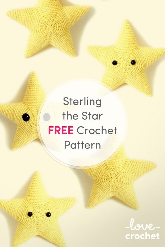 FREE Sterling the Star Crochet Pattern | Stricken und Häkeln