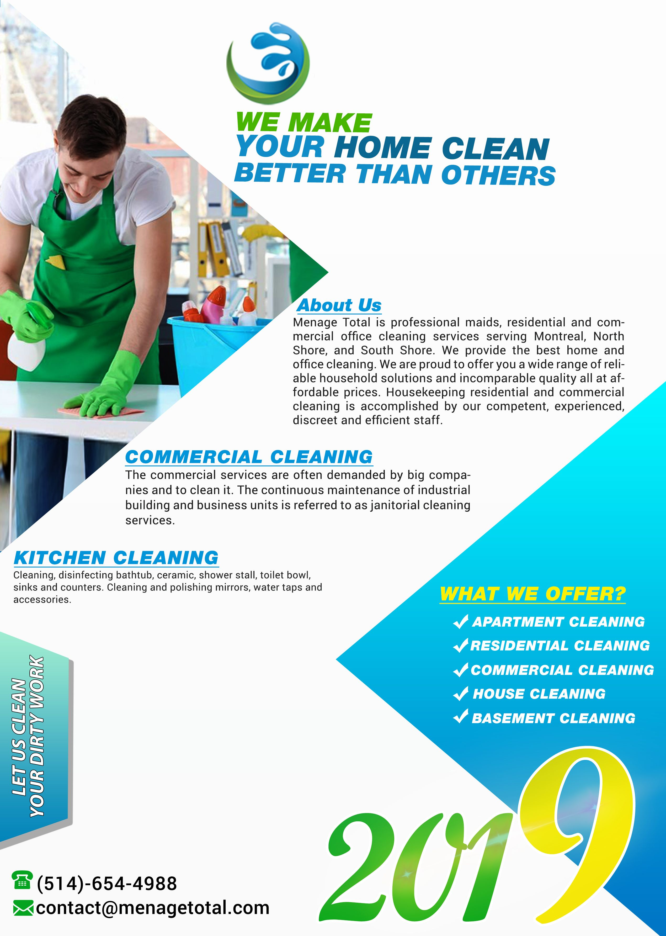 We Clean Your Home Handyman Business Cleaning Business Office Cleaning Services