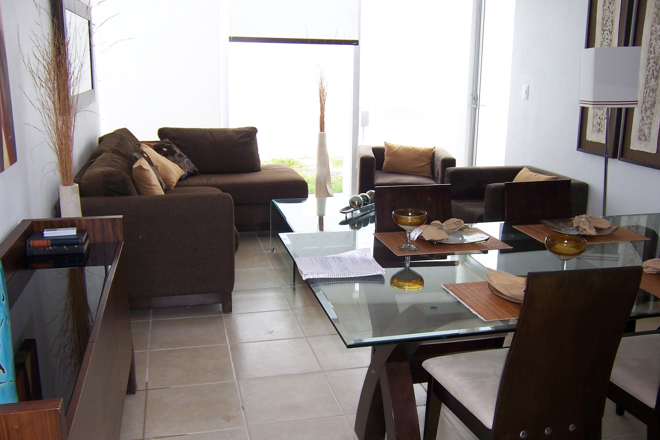 Salas modernas muebles para cocinas modernos departamentos for Decoracion para departamentos