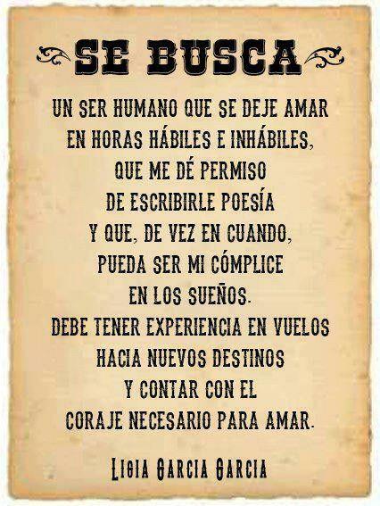 Se Busca Alguien A Quien Amar Frases Frases Amor Y Frases De