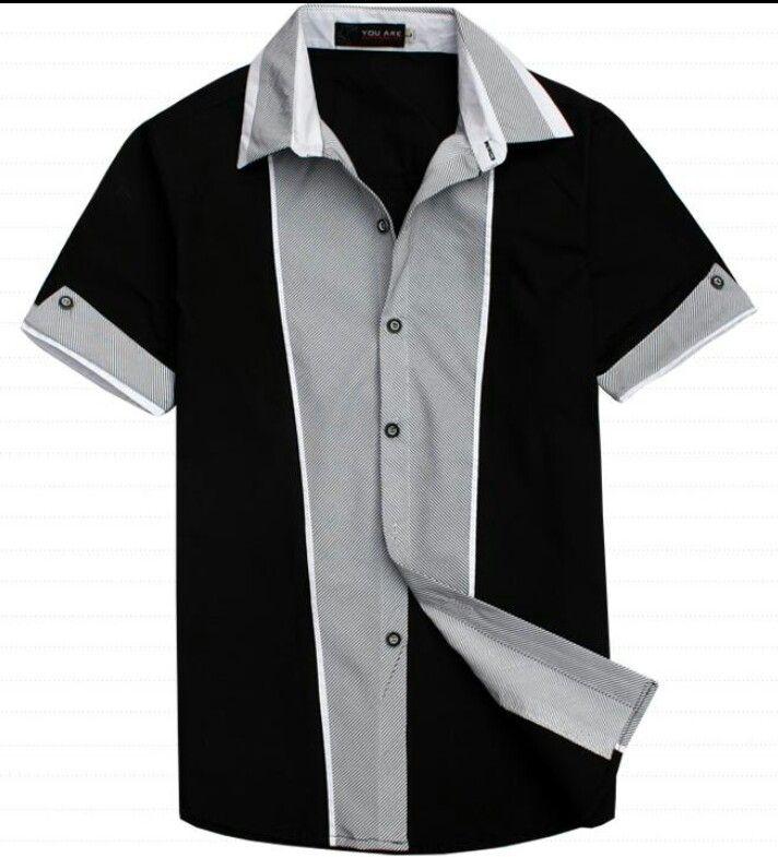d9764c8753b02 Rockabilly shirt Camisas Hombre