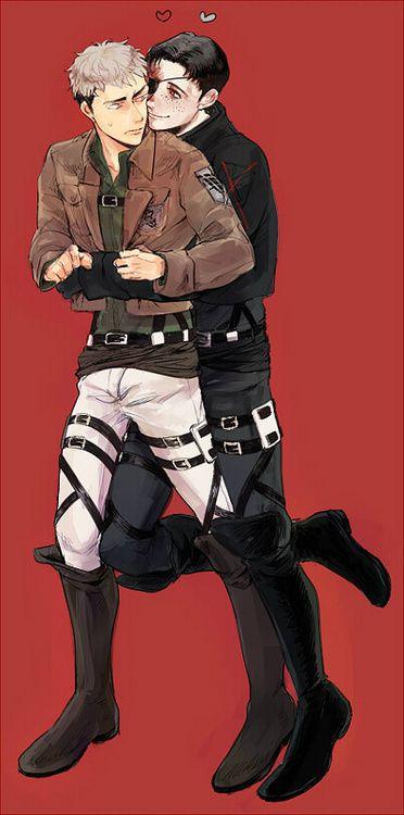 Attack on Titan (Shingeki no Kyojin) - Marco Bott x Jean