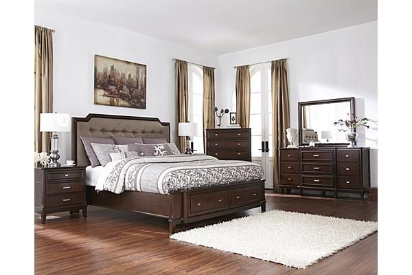 The Larimer Panel Bedroom Set from Ashley Furniture HomeStore  AFHS com   WithThe Larimer Panel Bedroom Set from Ashley Furniture HomeStore  . Ashley Furniture Sanibel Bedroom Set. Home Design Ideas