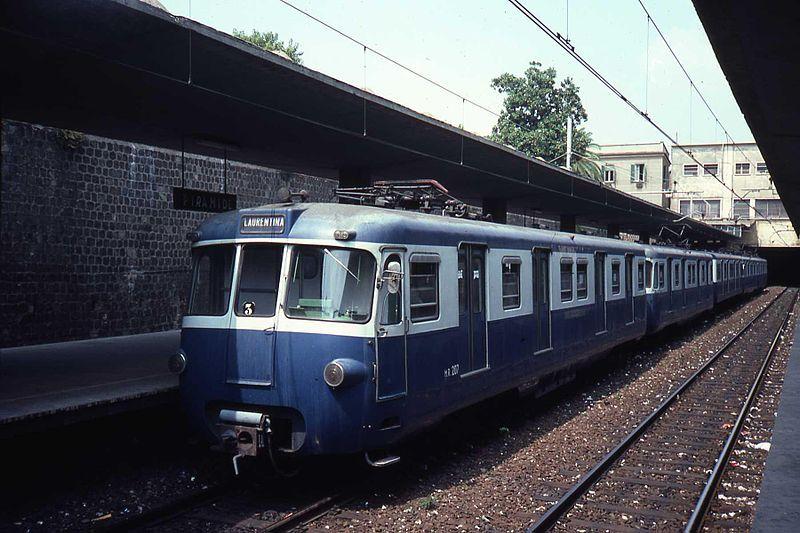 Elettromotrice della Ferrovia Roma-Lido