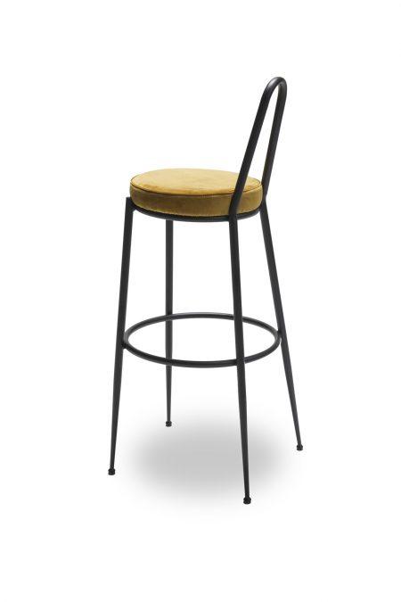 Sedia retrò, ronda incarnando design e comfort, amiamo il suo stile retrò preso in prestito dagli anni '50! Stools Lalabonbon Stool Vintage Stool Foot Rest