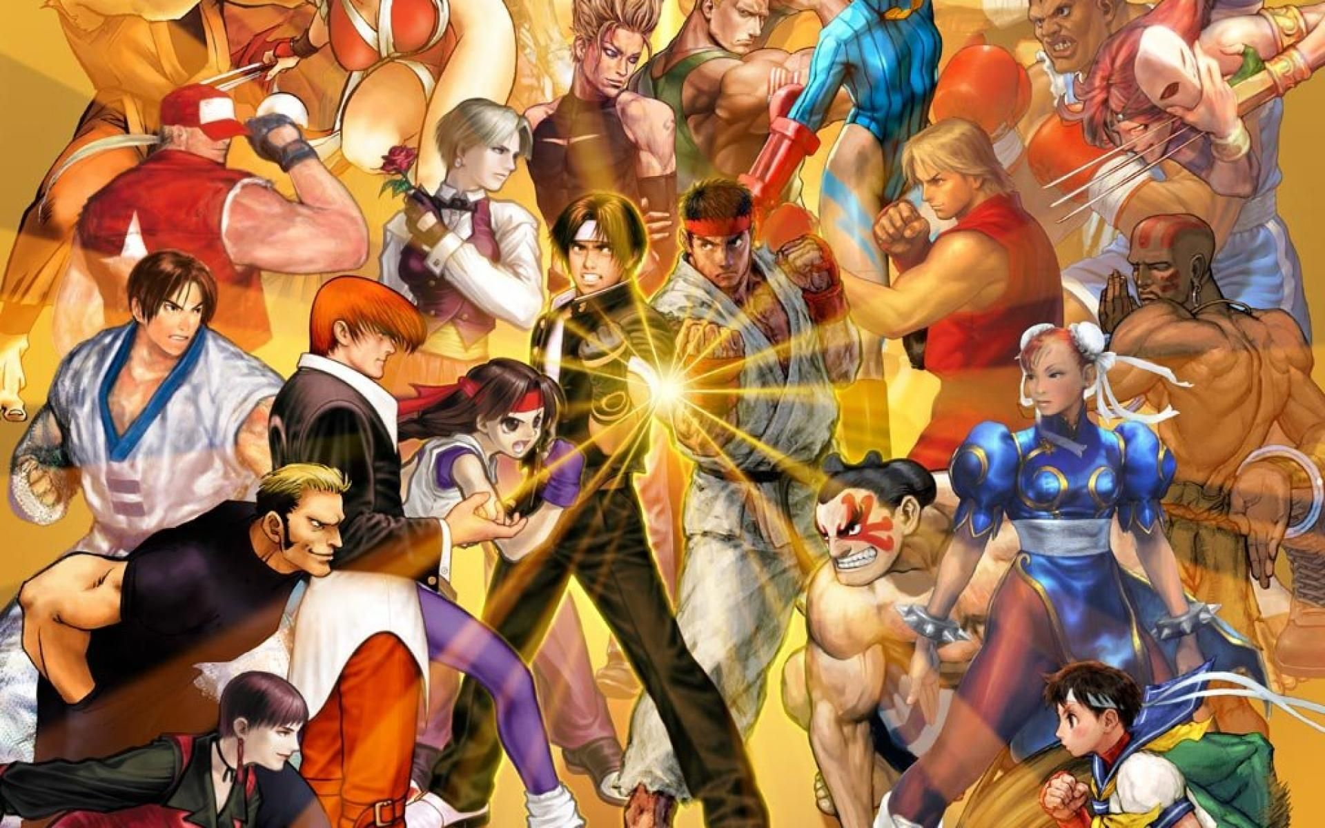 Capcom Vs Snk Wallpaper Snk Kof Videojuegos