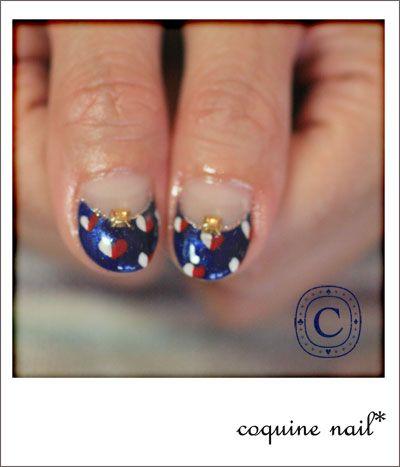 秋色。   KiccA nail