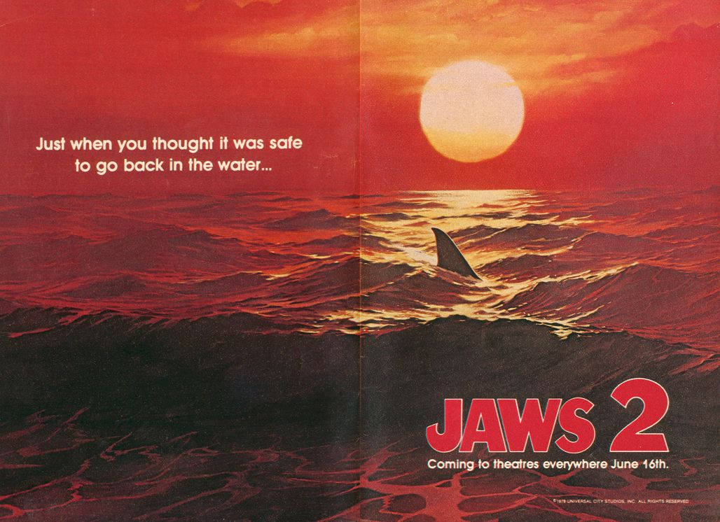 Image result for jaws 2 poster
