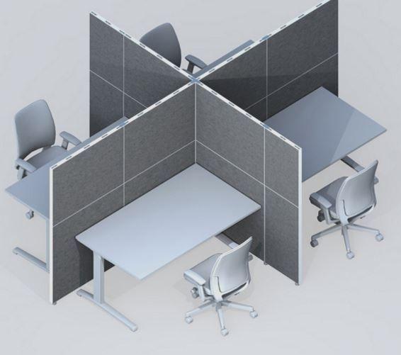 Trennwand Raumteiler Buro 2 Akustische Trennwand Pinterest