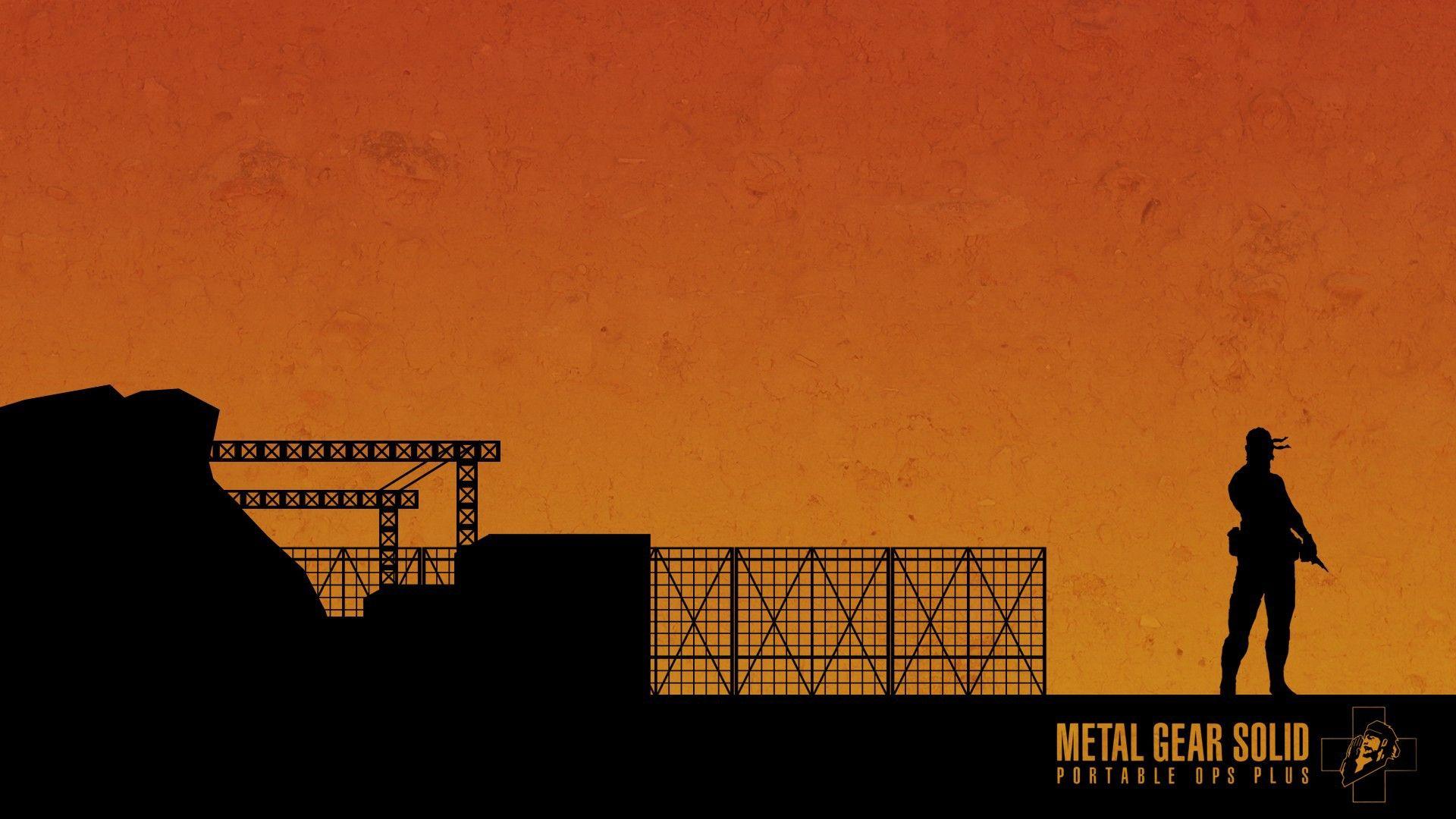 Big Boss Kojima Productions Ops Plus Mgspo Wallpaper Metal Gear Metal Gear Solid Metal Gear Rising