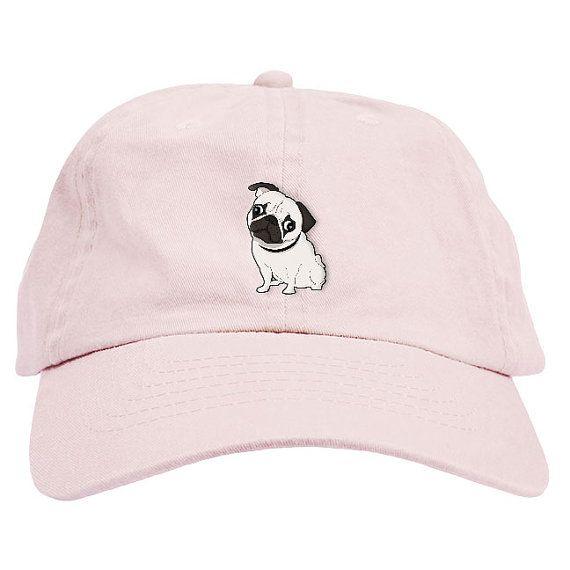 Pug Dad Hat Baseball Cap Low Profile Products En 2019