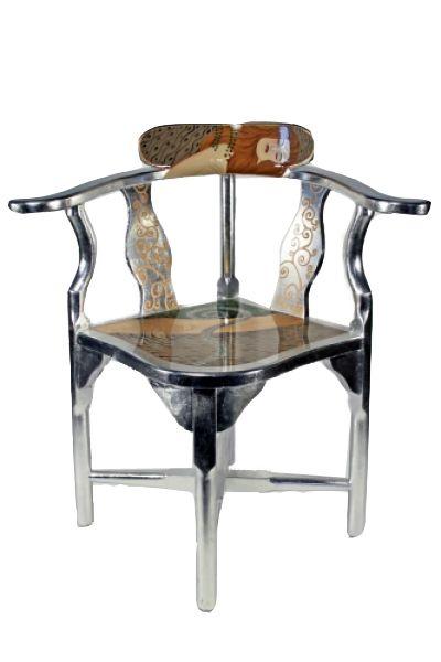gustav klimt eckstuhl die wasserschlange gustav klimt casa collection pinterest gustav. Black Bedroom Furniture Sets. Home Design Ideas