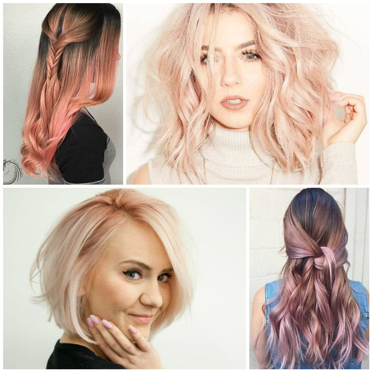 Aweinspired rose gold hair colors for hair pinterest
