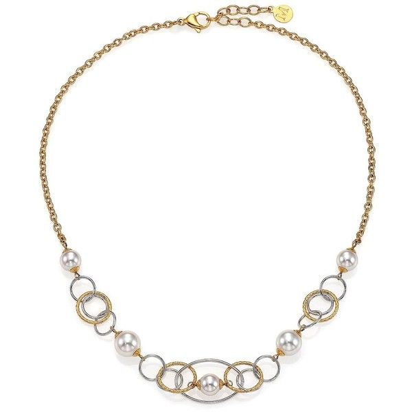 Majorica Mixed Pearl Chain Necklace, 6-8mm