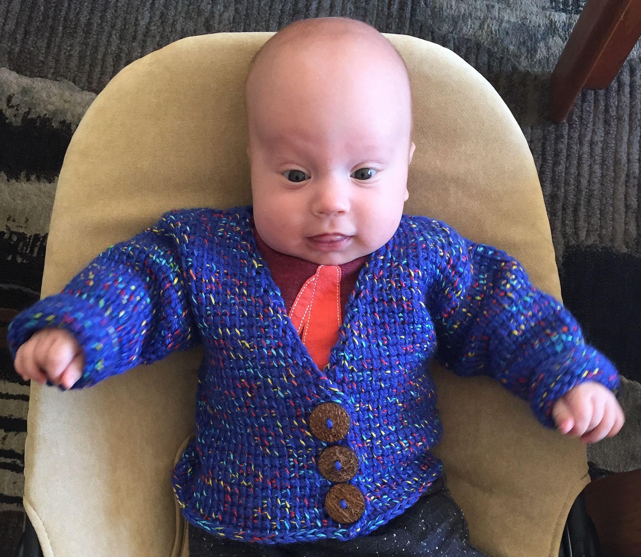 Suvis crochet babys grandpa cardigan in tunisian sweater suvis crochet babys grandpa cardigan in tunisian sweater free crochet pattern bankloansurffo Images
