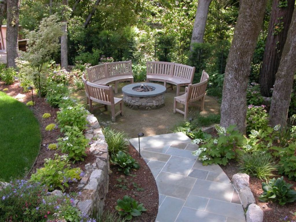 Outdoor , Enchanting Garden Seating Ideas Giving Comfy And Relaxing Feel To  Your Outdoor Space :