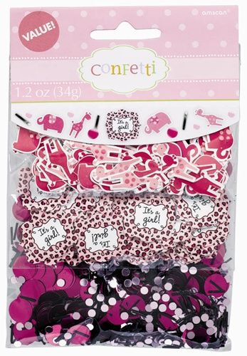 Three Diffe Types Of Confetti Are Included In Our Sweet Safari Value Pack