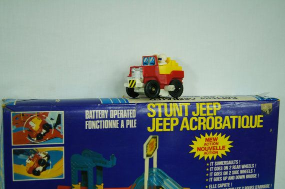 Stunt Jeep with Track by Nobility toys  Toy Stunt Jeep Race